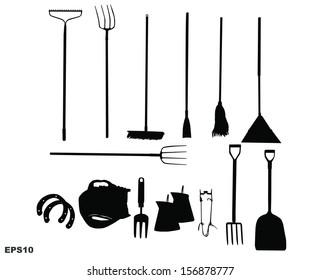 Farm tool with VECTOR 10 EPS