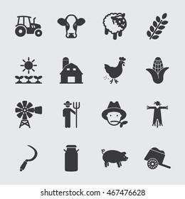 Farm vector icon