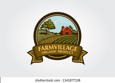 Farm Sketch Logo Hd Stock Images Shutterstock