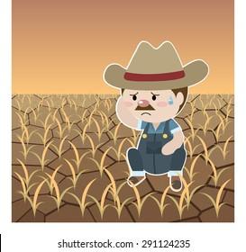 Sad Farmer Hd Stock Images Shutterstock