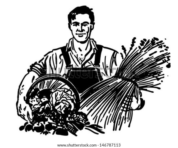 Farmer Clip Art
