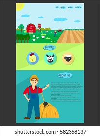 farmer web template