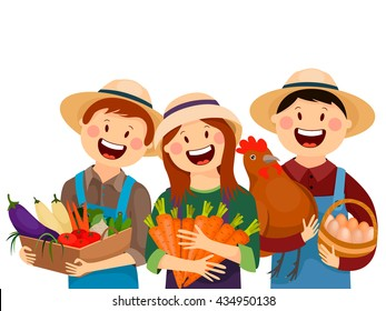 farmer family images stock photos vectors shutterstock rh shutterstock com clipart farmers hat clipart farmers hat