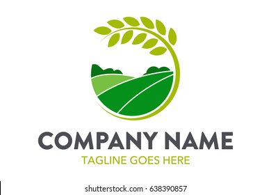Farming Logo Template