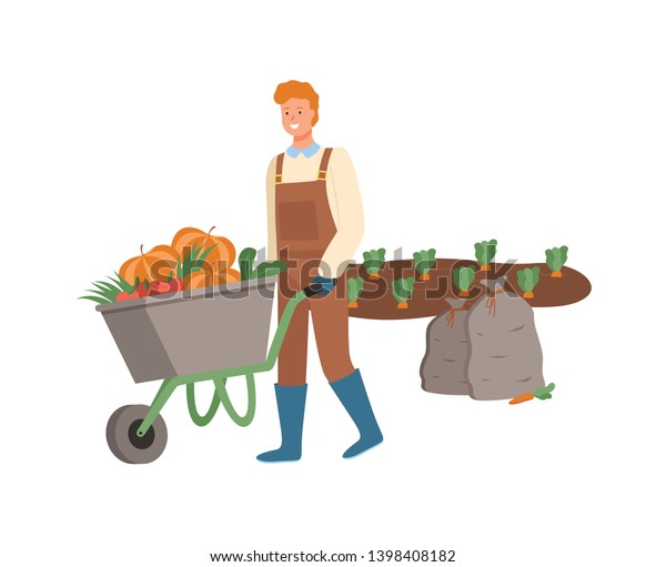 ᐈ Wheelbarrow clip art stock icon, Royalty Free wheelbarrow images |  download on Depositphotos®