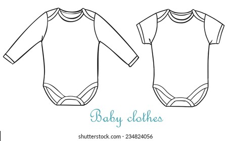 fashion baby clothing. costumes for babies. Baby onesie.
