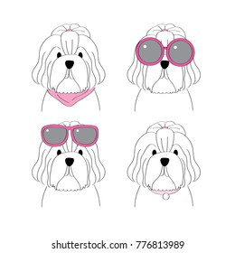 Cartoon Shih Tzu Images Stock Photos Vectors Shutterstock