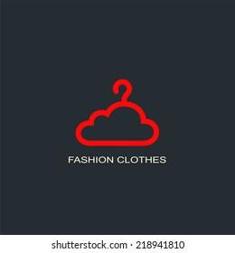 Fashion clothes logo