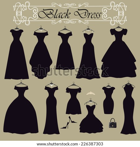 Party Dress Art