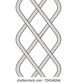 Fashion Elements: Intertwining Celtic Rib Knit Cables