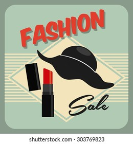 fashion female design, vector illustration eps10 graphic