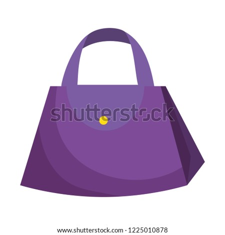 Fashion Feminine Handbag Icon Stock Vector (Royalty Free) 1225010878 ... 2780e6245a