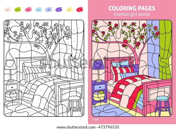Coloring Pages For Bighorn Sheeps On Golden And Pinkish Magenta ... | 444x600