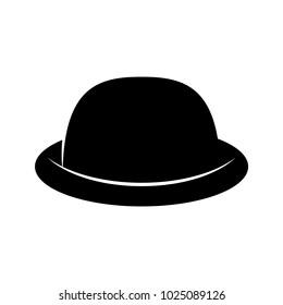 Women s black hat. Lady retro hat. Vector illustration. a49a171b0be1