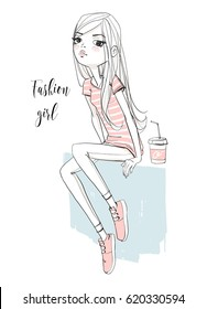 fashion illustration girl