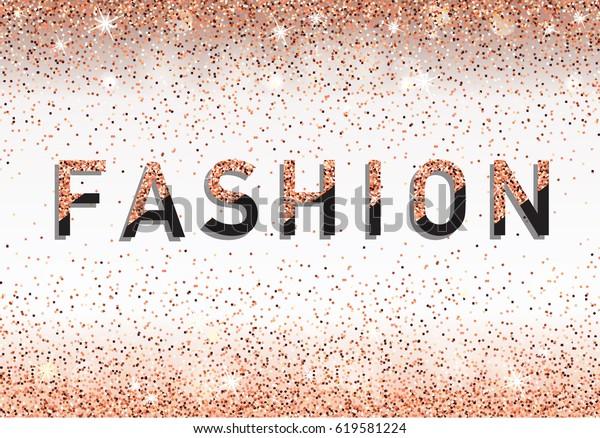 Fashion Invitation Card Fashion Show Vip Stock Image