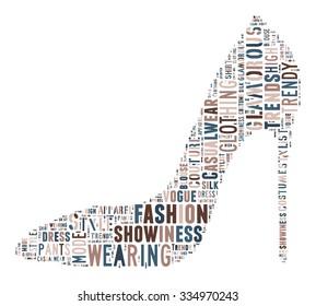 Fashion Keywords Tag Cloud    - vector illustration