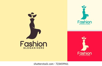 Fashion Logo designs template, Fashion Show logo template vector