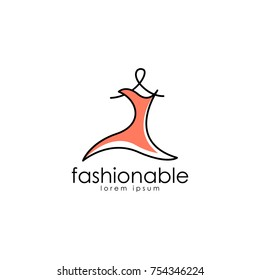 Fashion Logo Vector Art. Logo Template