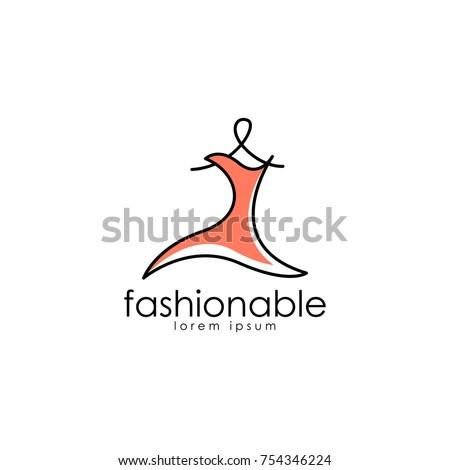 Fashion Logo Vector Art Logo Template Stock Vector (Royalty Free ...