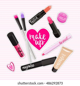 Cartoon Makeup Images, Stock Photos \u0026 Vectors