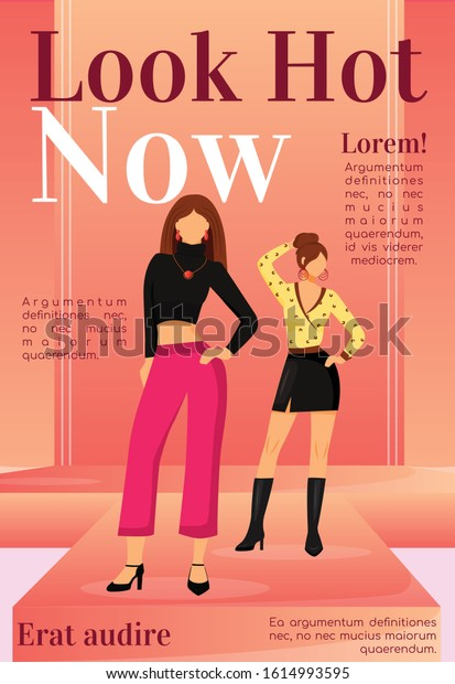 Fashion News Magazine Cover Template Runway Stock Vector Royalty Free 1614993595