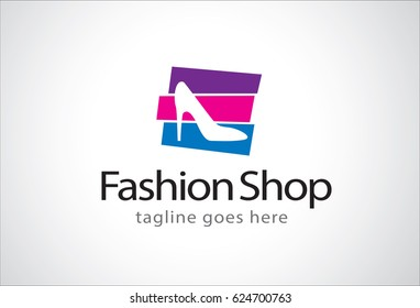 Fashion Shop Logo Template Design