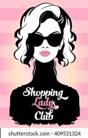Fashion Shopping Lady Club