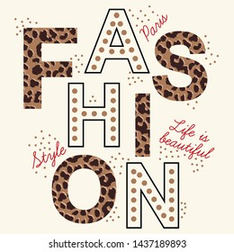 Fashion slogan graphic for t-shirt.Typography for t shirt.vector.