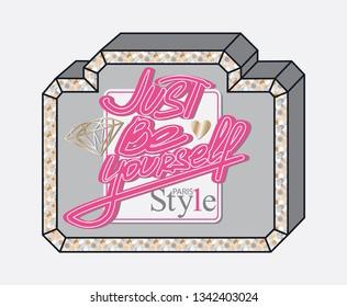 Ilustraciones, imágenes y vectores de stock sobre Perfume Slogan