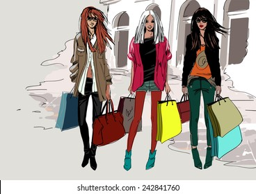 Fashion street girls