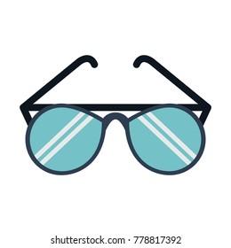 Fashion sunglasses isolated