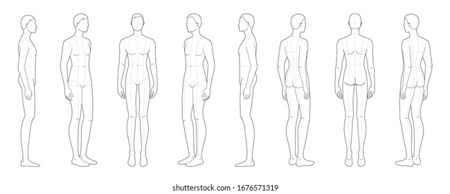 Man Face Side Line Drawing Images Stock Photos Vectors Shutterstock
