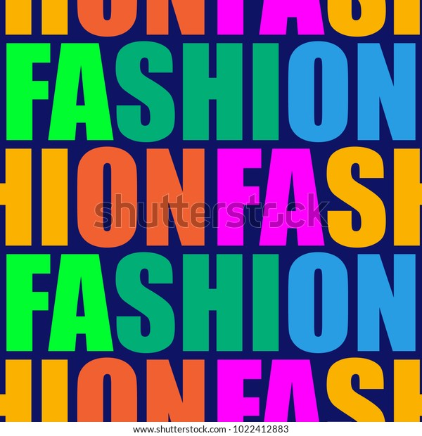 Fashion Word Collage On Dark Blue Stock Vector Royalty Free 1022412883