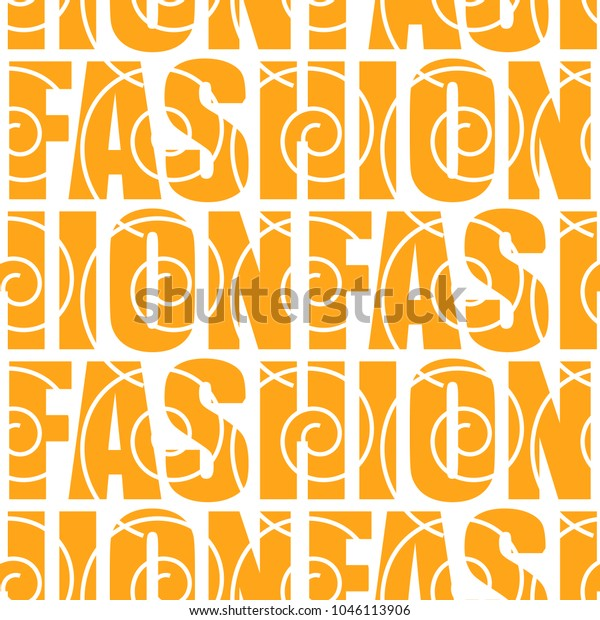 Fashion Word Collage On White Background Stock Vector Royalty Free 1046113906
