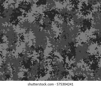 Fashionable camouflage pattern, vector illustration. Military print. Seamless vector wallpaper