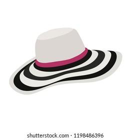 fashionable women's hat