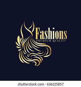 Fashions Boutique Logo Vector