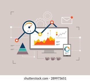 Fast analytics for website optimization