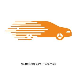 fast car vehicle transportation car automotive garage drive dealer image icon