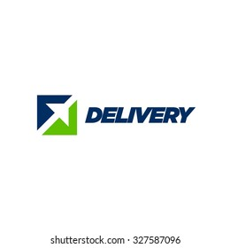 Fast delivery logo design series