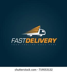 Fast Delivery Logo, icon, symbol design template