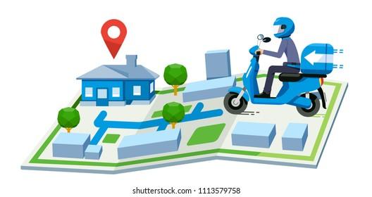 Mapa Moto Images Stock Photos Vectors Shutterstock