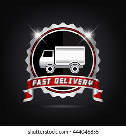 Fast Delivery Silver Badge