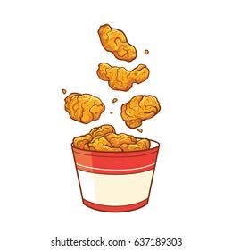 Food Cartoon Chicken Wing
