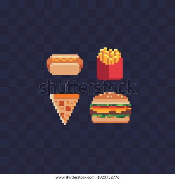 Image Vectorielle De Stock De Des Icônes Dart Au Pixel Près
