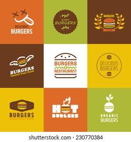 Burger Logo Ideas Images Stock Photos Vectors Shutterstock