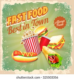 fast food retro best in town