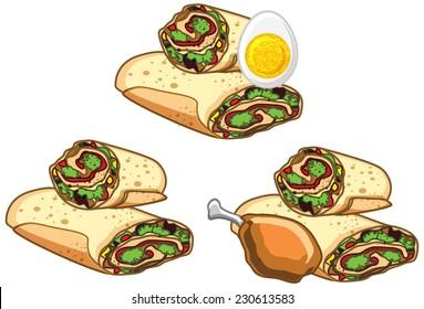 Fast Food - Rolls Set