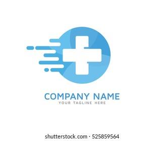 Fast Medic Logo Design Template